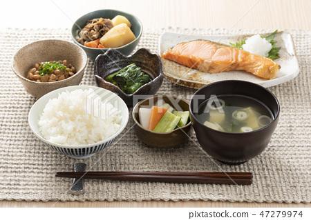 日本早餐图像 47279974