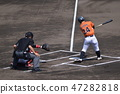 Batting (left batter) (Kochi City Baseball Ground / Kochi Prefecture Kochi City Ohara Town) 47282818