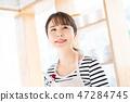做有夫人的主婦廚房廚房做早餐 47284745