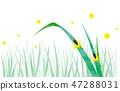 Background material _ Genji firefly 47288031