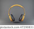 yellow, headphones, headphone 47290831