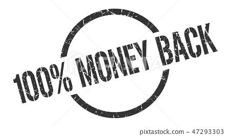 100% money back stamp 47293303