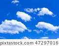 蓝天和白色云彩28 47297016