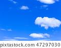 蓝天和白色云彩42 47297030