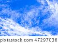 蓝天和白色云彩48 47297036