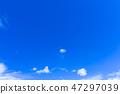 蓝天和白色云彩51 47297039