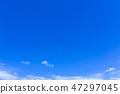 蓝天和白色云彩57 47297045