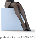stocking, tights, black 47297223