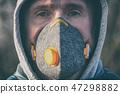 mask, people, man 47298882