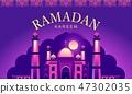 ramadan kareem background 47302035