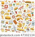 食物 食品 漢堡 47302134