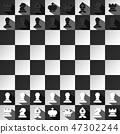 chess game board 47302244
