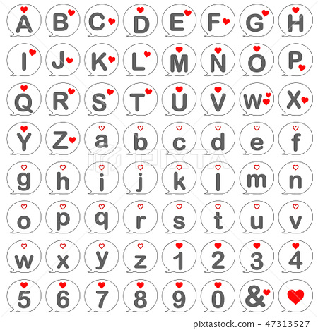 로마자, 영문, 알파벳 47313527