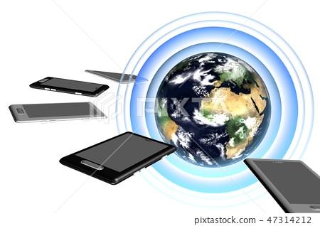 International communication image (computer graphic) 47314212