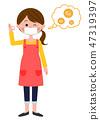 家庭主妇防止花粉热全身 47319397
