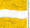 Yellow fashion textile design 47320967