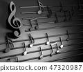 音乐 音符 黑色 47320987
