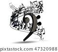 音乐 符号 签字 47320988