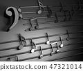 音乐 背景 音符 47321014