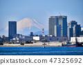 Yokohama Port and Mt. Fuji 47325692