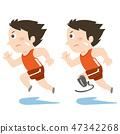 올림픽과 장애인 올림픽 단거리 주자 47342268
