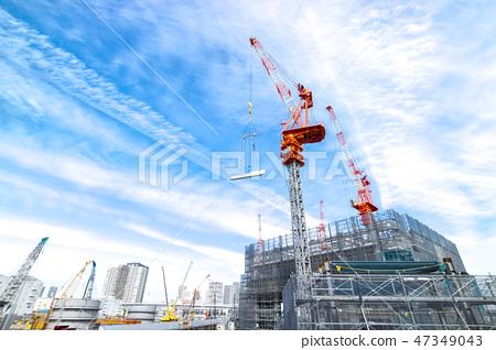 公寓/建築施工現場 47349043