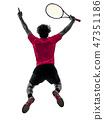 网球 抠图 白底 47351186