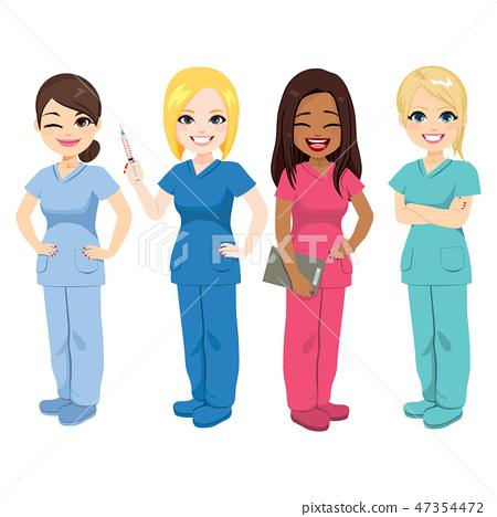 Nurse Team Staff 47354472