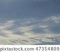 ท้องฟ้าสีฟ้าและเมฆสีขาวของชายฝั่ง inage 47354809