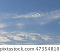 ท้องฟ้าสีฟ้าและเมฆสีขาวของชายฝั่ง inage 47354810