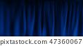 background blue fabric 47360067