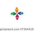 Community people care logo and symbols 47364426