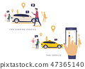 Taxi service,Car sharing,man phone,icon,location 47365140