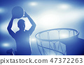 basketball, ball, basket 47372263