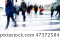 action, pedestrian crossing, pedestrian 47372584