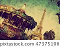 eiffel, paris, eiffel tower 47375106