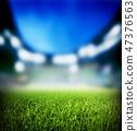football, stadium, grass 47376563