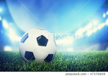 football, soccer, grass 47376609