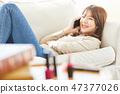 女性生活方式放鬆 47377026