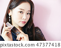 女性美容化妆 47377418