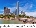 Luxury beachfront condominium buildings 47378672