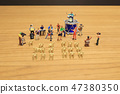 a mini of Figures music band on show 47380350