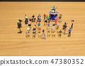 a mini of Figures music band on show 47380352