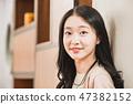 직장인,회사원,회의,비즈니스맨,젊음,비즈니스우먼,발표, 보고,캐주얼 47382152