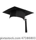จบการศึกษา,หมวกแก็ป,หมวกแก๊ป 47386803