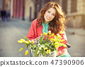 bicycle bouquet female 47390906