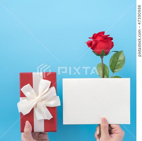 情人節求愛禮物纞帶送禮物禮物送禮物 47390986