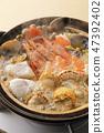 Seafood pot 47392402