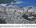 도시의 풍경 (홋카이도 오타루시 중심부) 47394349