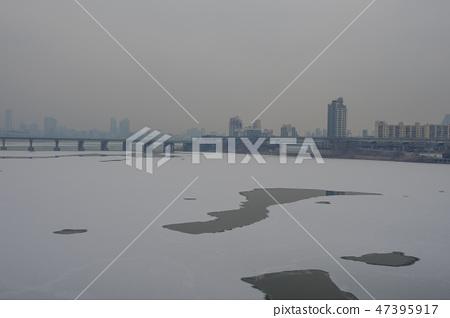 한강 얼음 47395917